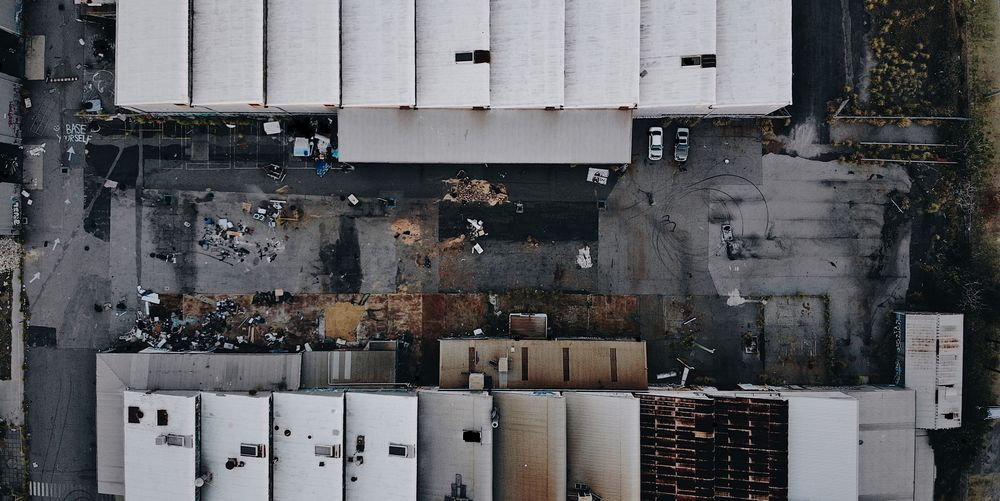 Abandoned Birds Eye View Dronephotography Drone  Warehouse Abandoned No People Built Structure Architecture Pattern Full Frame Indoors  Backgrounds Day Wall - Building Feature Building Metal Large Group Of Objects The Architect - 2018 EyeEm Awards