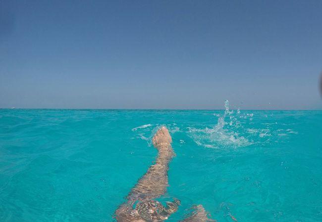 Mnemba Island Tanzania Sea Swimming Legs Sea And Sky Horizon Over Water Water Blue Mer Blue Sky Ciel Done That.
