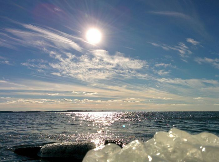 Lakeshore Winter Wonderland Sky And Clouds Sun_collection Ice EyeEm Nature Lover