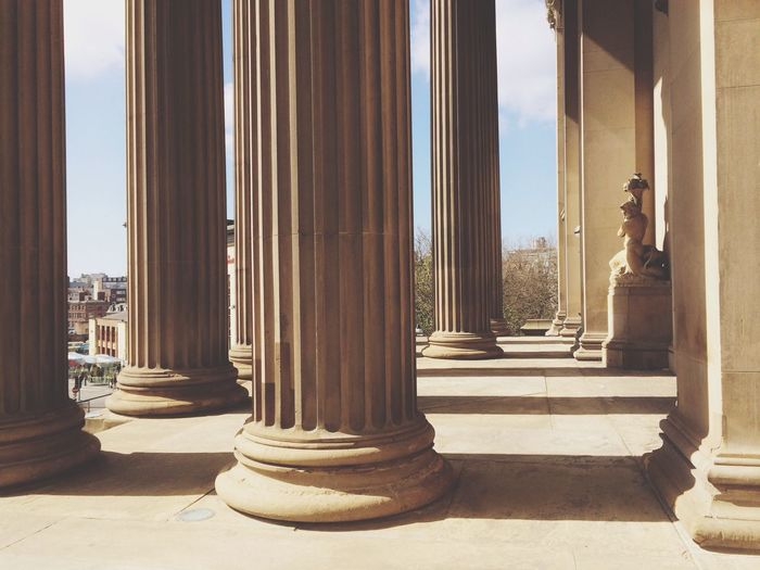 St Georges Hall Liverpool Columns