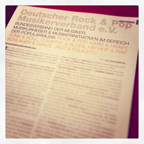 Im Musiker Magazin lesen was es Neues gibt... #morgenlektüre Morgenlektüre