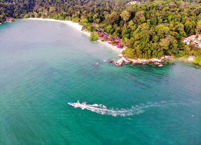 Beautiful island with crystal clear water View Beach Travel Travel Destinations Landscape Beauty Nature Holiday Aerial Shot Aerial Photography Dronephotography Getty Images EyeEm Best Shots EyeEm Nature Lover EyeEm Selects Beauty In Nature Beautiful Malaysia Water Nautical Vessel Aerial View Sea High Angle View Drone  Boat Calm Shore Sandy Beach Moored Ocean Water Vehicle