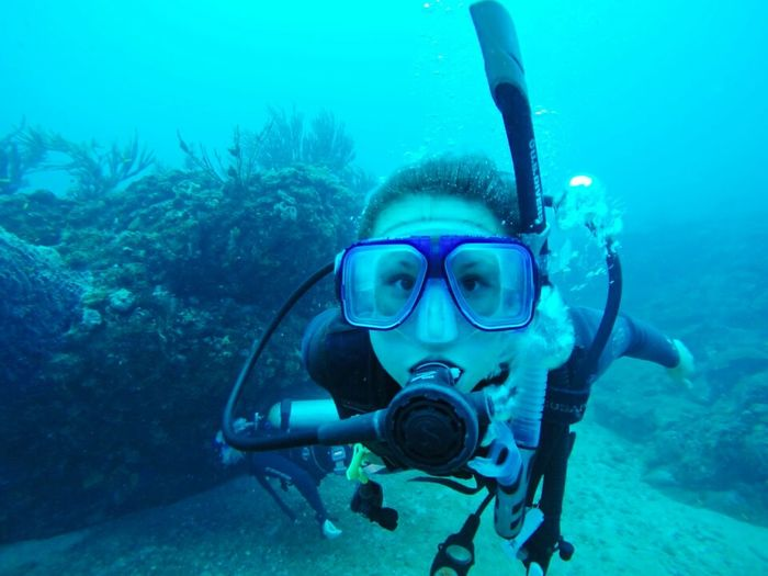 Colombia Tayronanationalpark ParqueTayrona Nature Scuba Diving Sea Underwater Sea Life Adult Naturelover