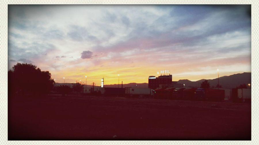 Truck Life Desert Sky NoWhere Land