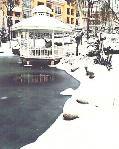Kışın en güzel hali.