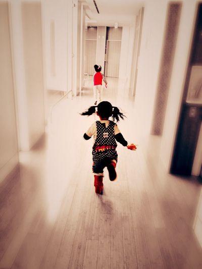 Children 廊下 Backstyle Fashion