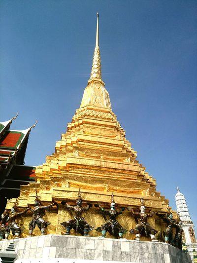 Wat phra kaew Temple Buddhist Temple Bangkok Thailand. Thailand Mypointofview Goodplace