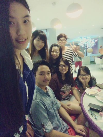 Throwback Yesterday Night Celebrate My Friend's Birthday Steamboat And Grill College Life Relaxing EyeEm Best Shots