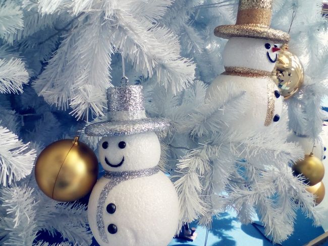 snow man for decorate the Christmas's tree Xmas Decorations Xmas Xmas Time Xmas Tree Snowman⛄ Art And Craft Indoors  No People Close-up Christmas Decoration Day