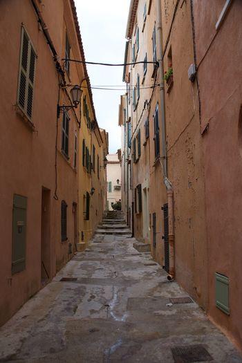 Alley After Rain st tropez Architecture