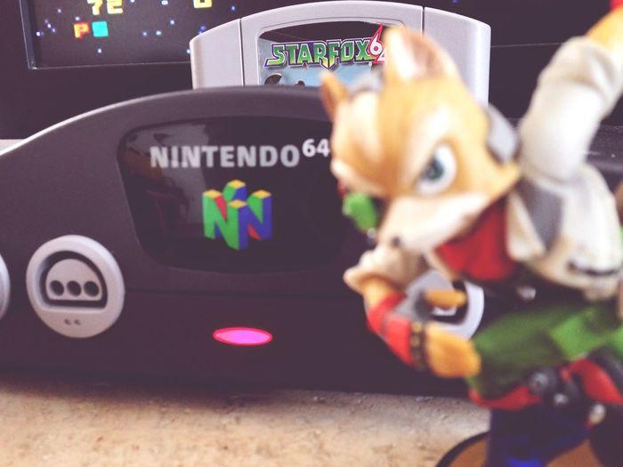 Starfox64 Playin N64 Nintendo