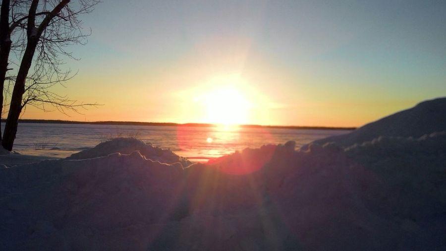 Winter Frozen River North Dvina Arkhangelsk Native Vscocam Kego Кегостров First Eyeem Photo