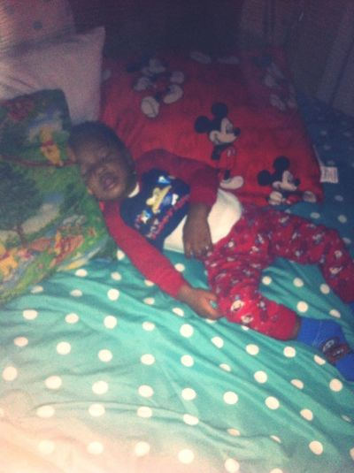 My Neph Knocked Out
