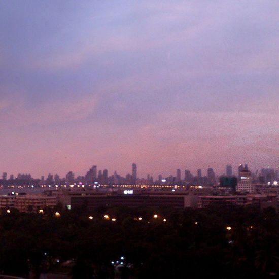 S K Y Evening Mumbai Today Pink MumbaiSkyline My_mumbai Vscomumbai Vscolove VSCO Vscocam Ig_india Sky Bpblpage