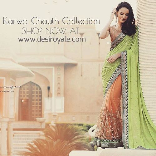 www.desiroyale.com Check out our Limited Collection of Sarees at www.desiroyale.com Freeshipping Desi Punjabi Wedding Weddings Jewelry Accessories Picoftheday Photooftheday Instagood Instacool Sardarni Jatti Bride Indianbride Sangeet Burningman Online  MustHave Trend Buy Shopping SALE karwachauth