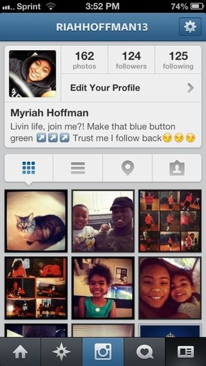 Follow Me On Instagram