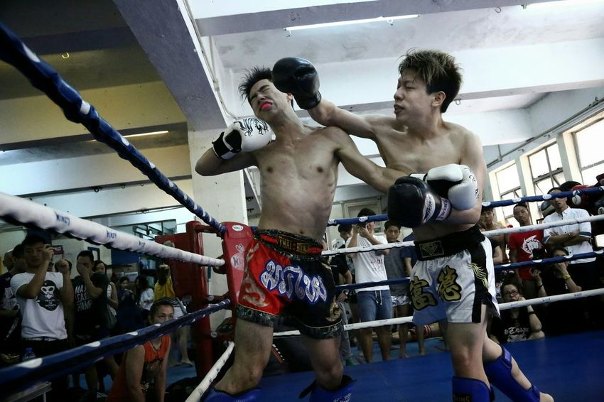 實牙實齒 - 戰情激烈 (Billy Gym's ,Inter-Gym's Thai Boxing) Billy Gym's, Inter- Gym's Thai Boxing HKMTA MAUY THAI Alternative Fitness Sport