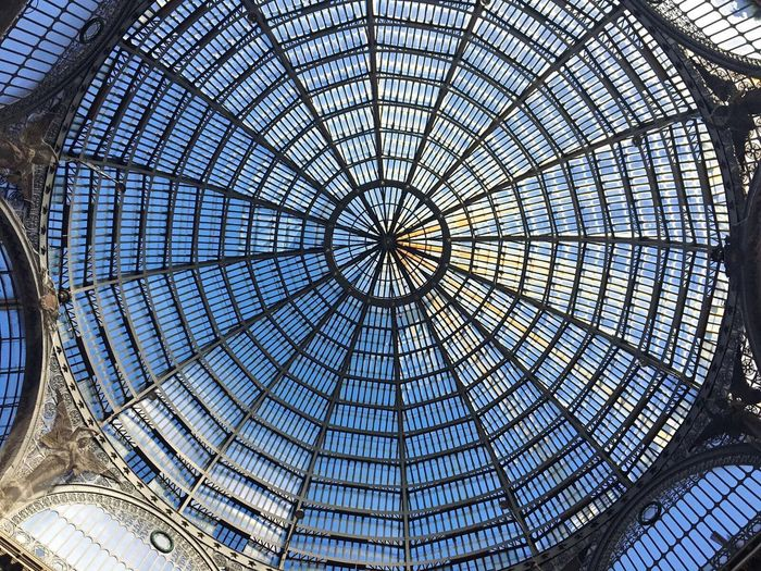 Ceiling Architecture Built Structure Modern Indoors  Travel Destinations City Dome Italy Italia