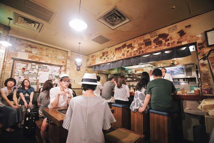 OSAKA Japan Kansai Okonomiyaki Umeda Dinner Time Relax Classic