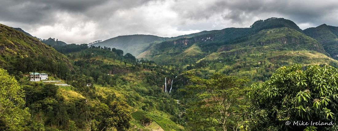 Moody panoramic of Sri Lanka Mountain Beauty In Nature Nature Landscape No People Scenics Cloud - Sky Sky Tranquility Outdoors Tranquil Scene Tree Eyeemphotography EyeEmNewHere