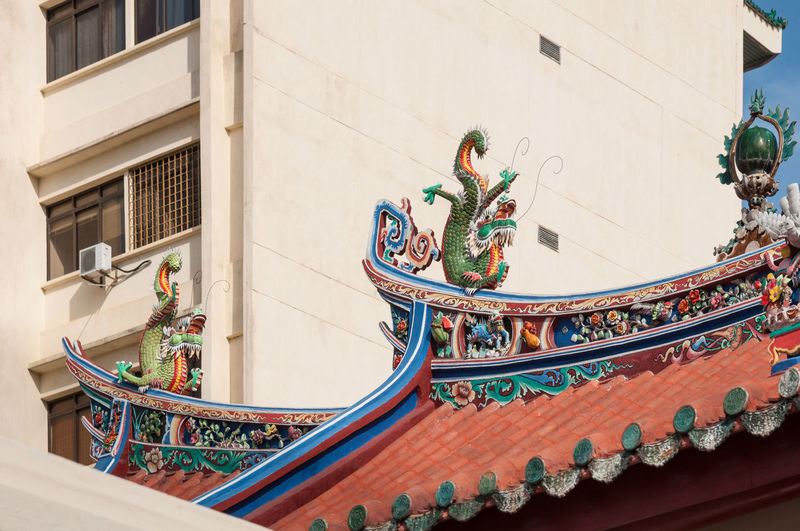 Architecture Asian Culture Chinesetemple Colorful Life Georgetown Penang Religious Icons Rooftop Travel Destinations Urban Geometry APS-C DSLR