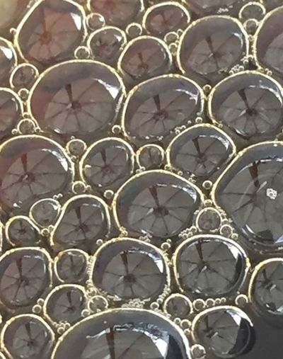 Coffee Reflection Coffee Bubbles Full Frame Pattern Backgrounds No People Day Design Shape Close-up Outdoors Circle Geometric Shape
