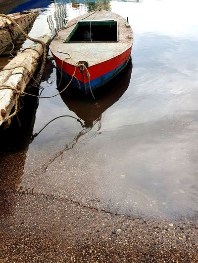 Nautical Vessel Transportation Moored Mode Of Transport Water Reflection Boat