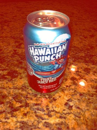 #HawaiianPunch In The Can, Havent Had This In Ages. Although , It Doesnt Taste The Same, Lables Dont Lie.