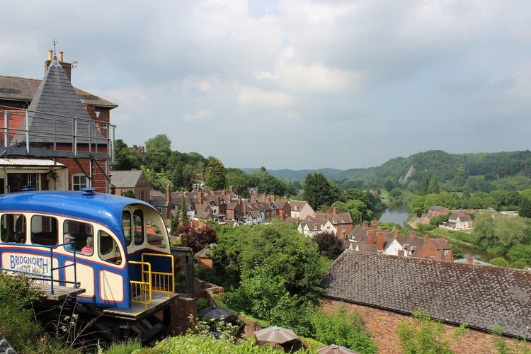 Cliff Railway Architecture Bridgnorth Built Structure Nature Outdoors Town Train - Vehicle
