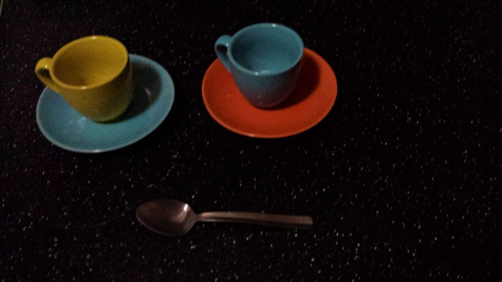 After Coffee Close-up Espresso Cups Indoors  Kitchen No People Spoon