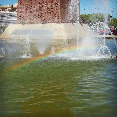 Tunisia IgersTunisia Rainbow Spring Avenue_bourguiba قوس قزح ... رنكين_كمان :)