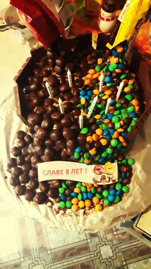 Happy Birthday Lil Bro #2016 Mylittlehappy Sweet Food Food No People Candy Multi Colored Ready-to-eat