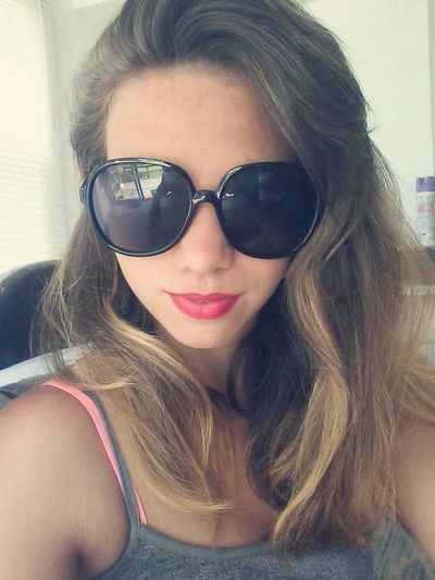 Beauty Day Front View Headshot Person Portrait Sunglasses Young Women