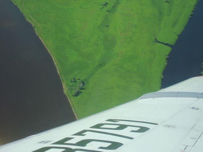 самолет посадка река Лена Якутск