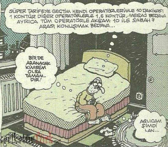 Yalnızlık Karikatur Komik