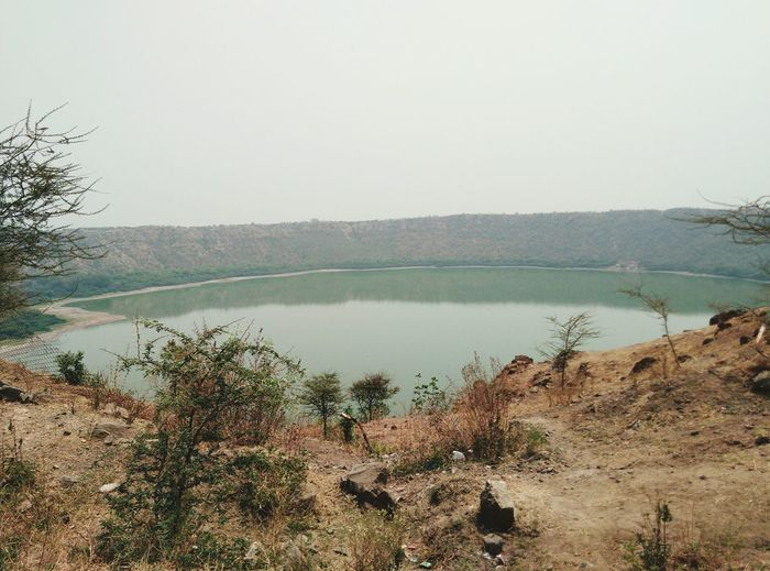 Lonar sarover at Buldhana district. Maharashtra