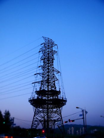 Electric Tower  Tower Taking Photos Diorama OlympusPEN Olympus E-P3 14-54mm II Sunset On The Road From My Point Of View