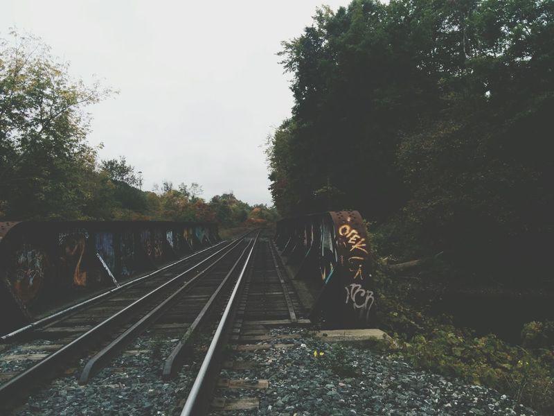 Lost Urban Graffiti Photography Train Tracks