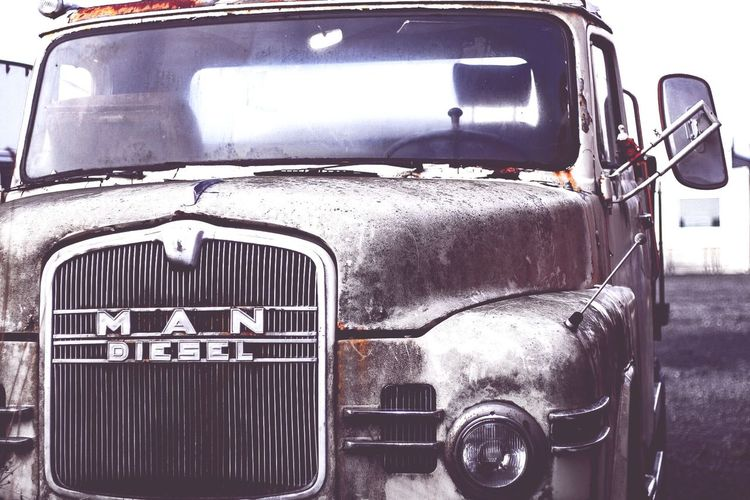 Old Truck Retro