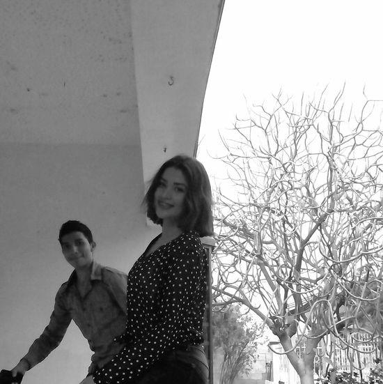 Hi! Cousins ❤ - ILoveYou.♡ Black & White Monochrome Goodnight✌