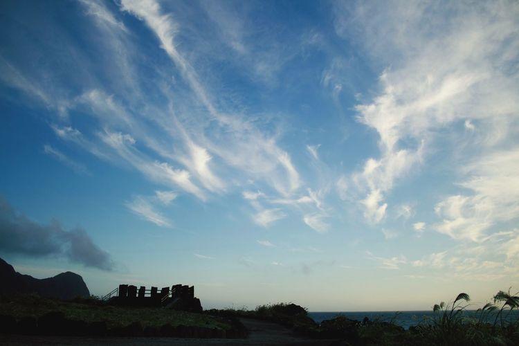 八丈島 Hachijo-island Eoskissx7i OpenEdit Tokyo,Japan Nature Photography Blue Sky Nature_collection Sky Clouds Island