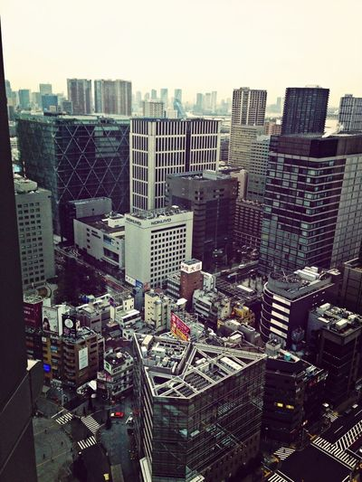 品川ビル街 Tokyo6am Japan Building And Sky Shinagawa-ku
