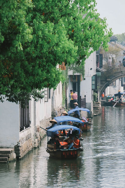 Boat Canal Mode Of Transport Nature Nautical Vessel Old Town Rippled River Sailing Tourboat Tourism Town Transportation Travel Destinations Water Watertown