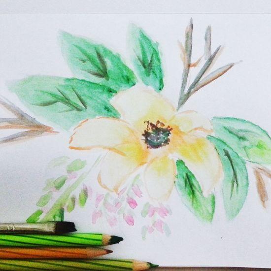 Floral Watercolor ArtInMyLife
