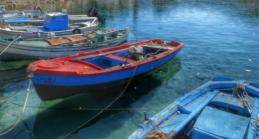 Fisherboats  Boats Seaside Water Reflections Getting Inspired Eyem Best Shots