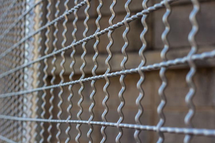 Full Frame Shot Of Security Bars