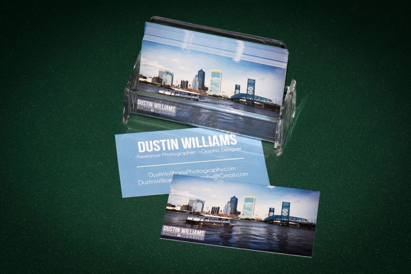 I'm a real photographer now, finally have my own business cards! What do you think? ?