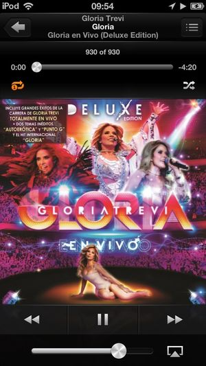 What Are You Listening To? Gloria Trevi Happy
