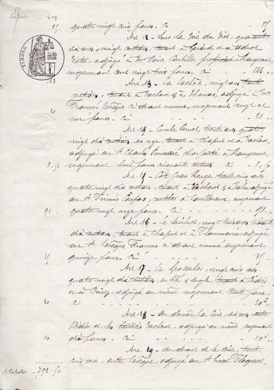 Text written on paper