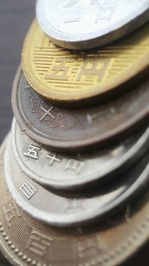 1yen 5yen 50yen 100yen 500yen Yen Coins Japan